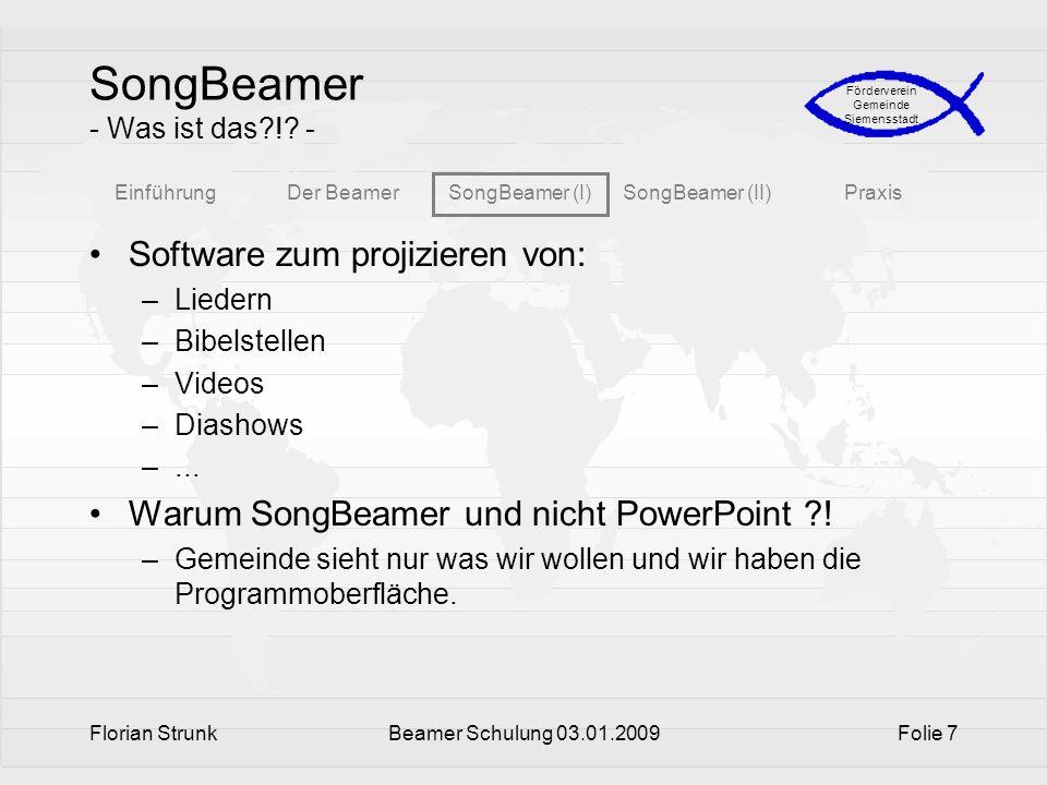 SongBeamer - Was ist das ! -