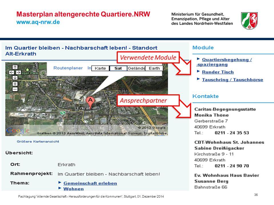 Fachtagung Alternde Gesellschaft - Herausforderungen für die Kommunen , Stuttgart, 01.