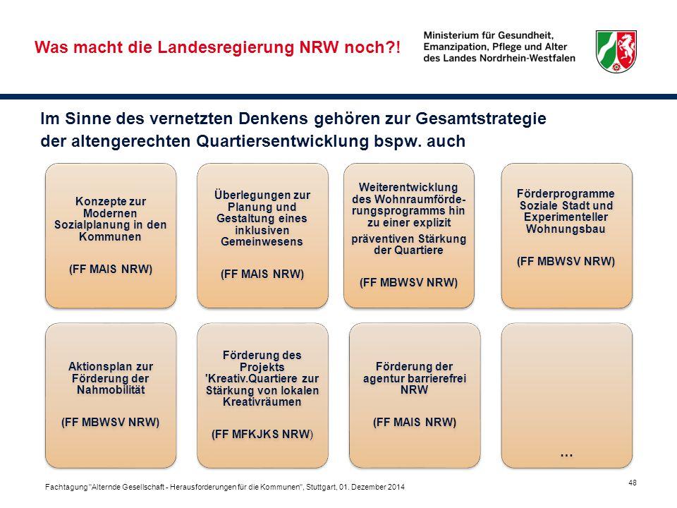 Was macht die Landesregierung NRW noch !