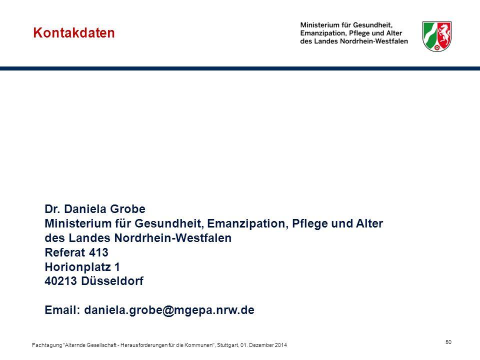Kontakdaten Dr. Daniela Grobe