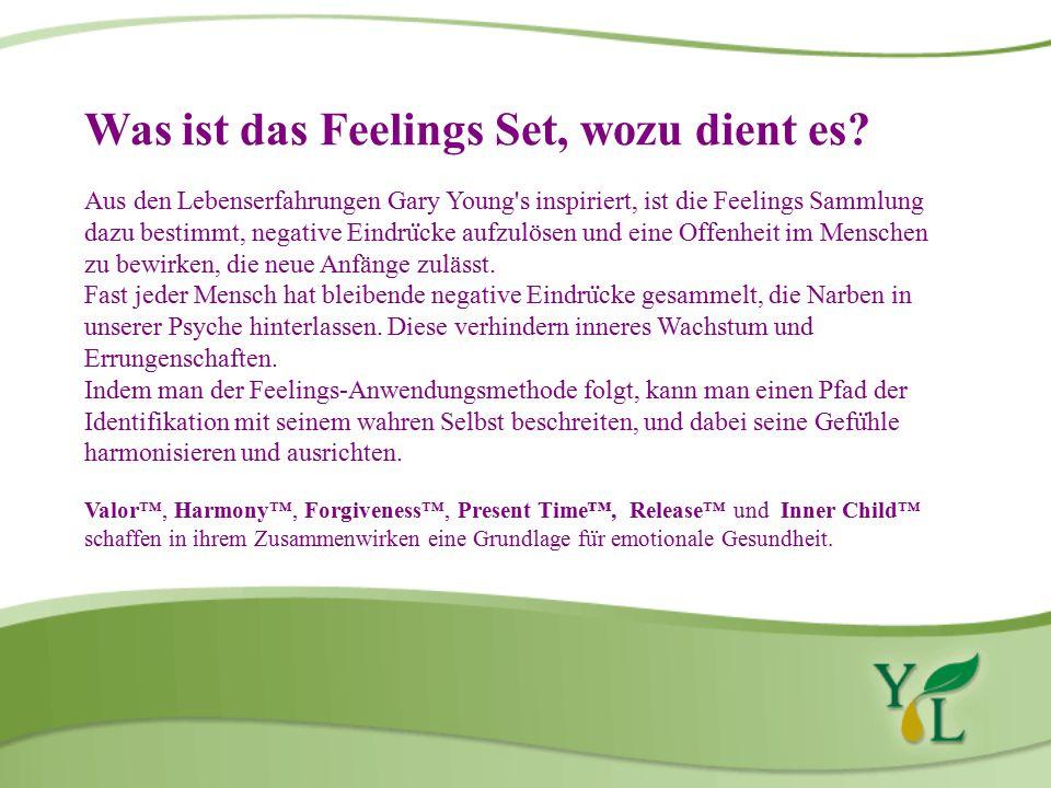 Was ist das Feelings Set, wozu dient es