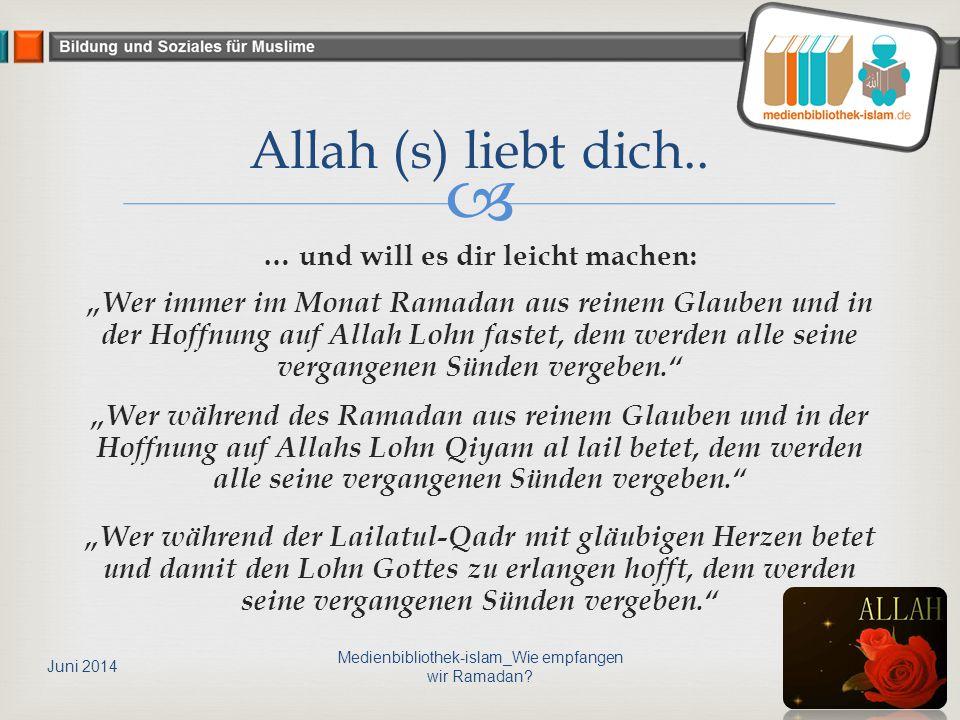 Medienbibliothek-islam_Wie empfangen wir Ramadan