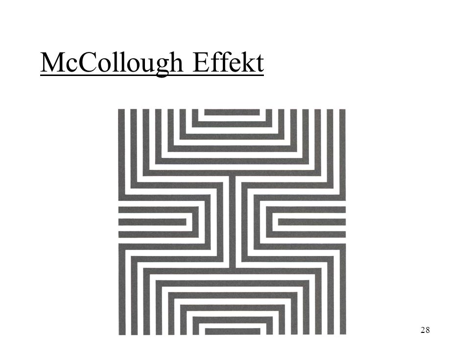 McCollough Effekt