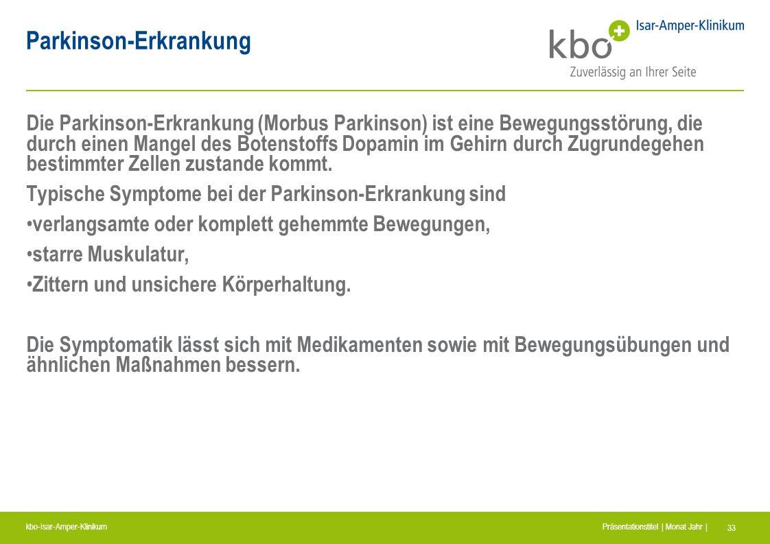 Parkinson-Erkrankung