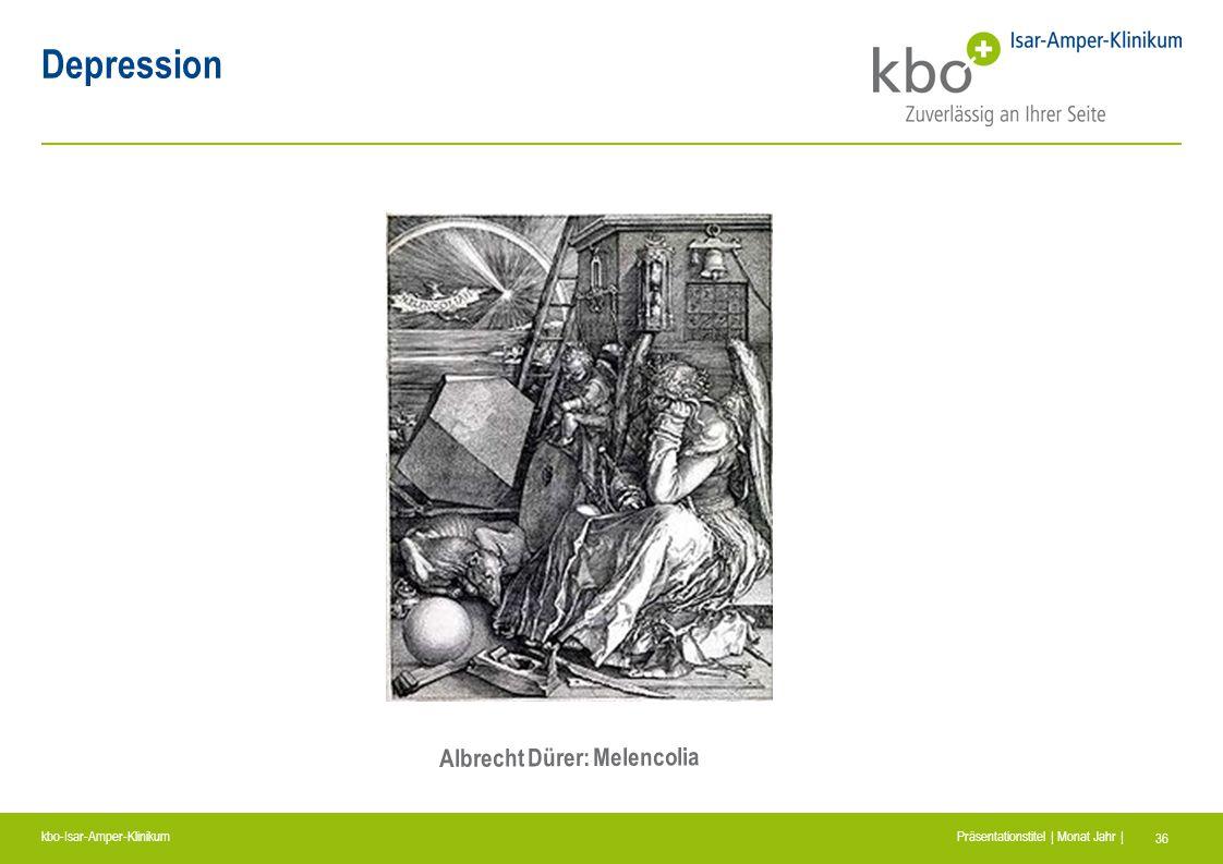 Depression Albrecht Dürer: Melencolia