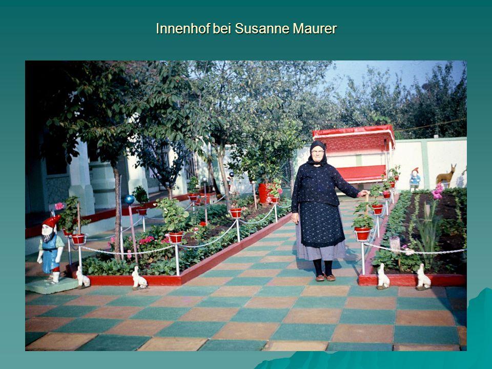 Innenhof bei Susanne Maurer