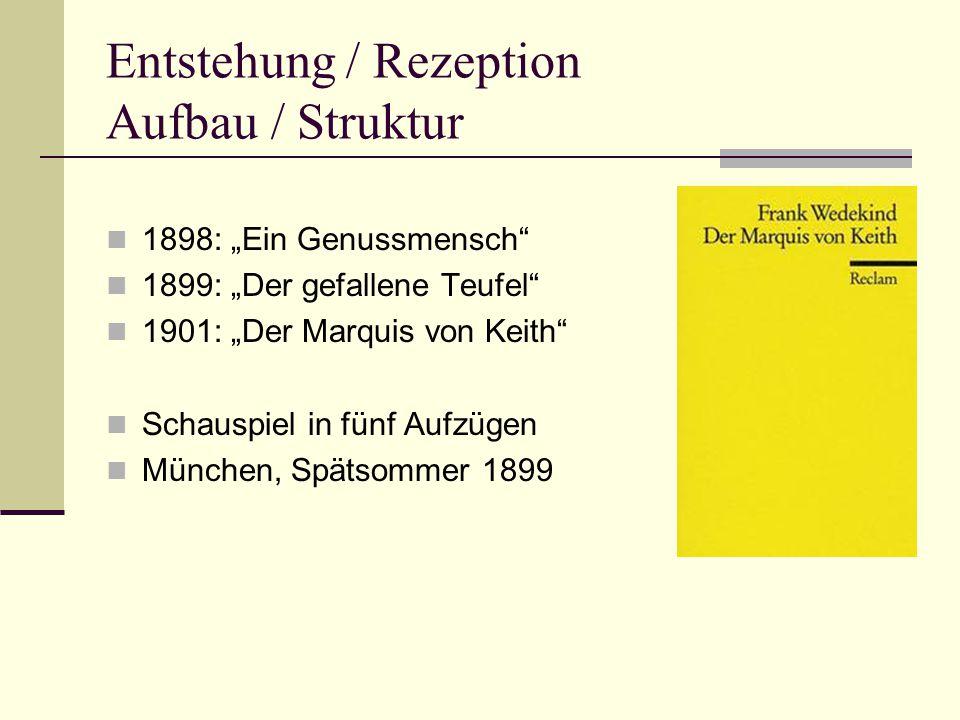 Entstehung / Rezeption Aufbau / Struktur