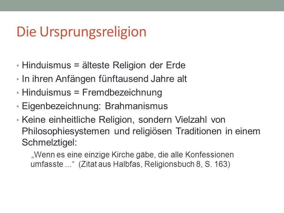 Die Ursprungsreligion