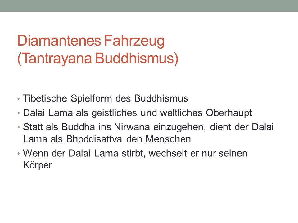 Diamantenes Fahrzeug (Tantrayana Buddhismus)