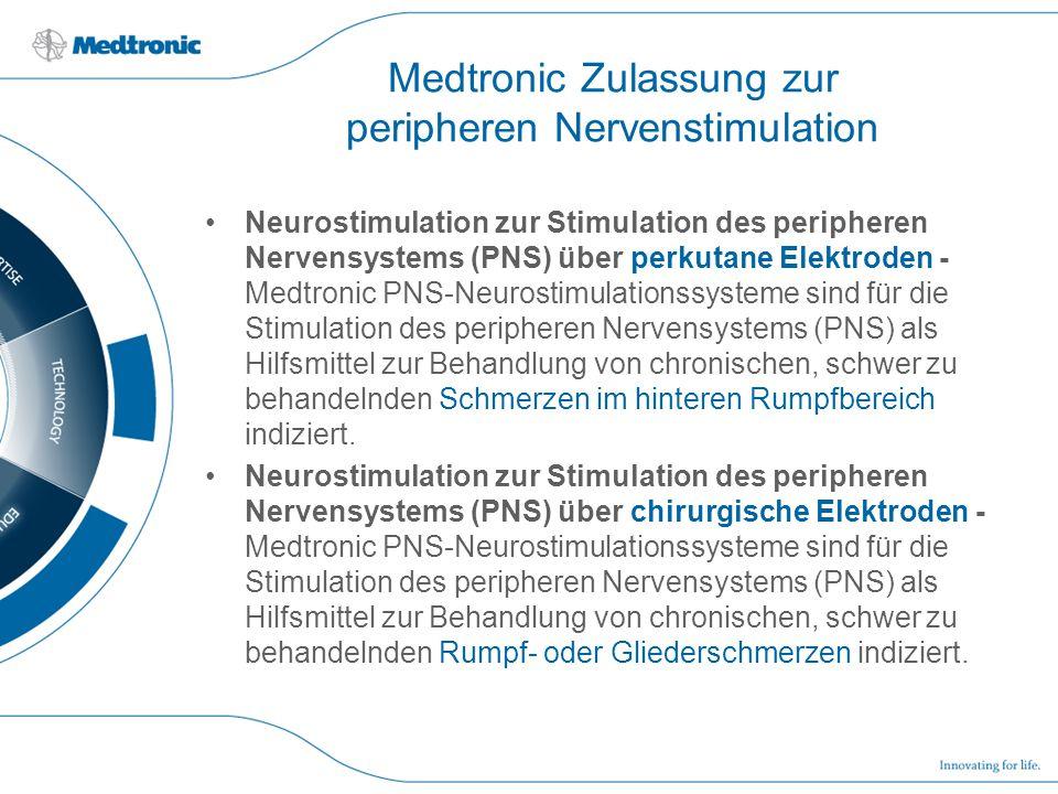 Medtronic Zulassung zur peripheren Nervenstimulation