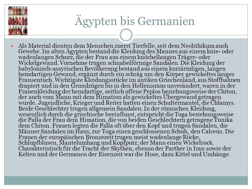 Ägypten bis Germanien