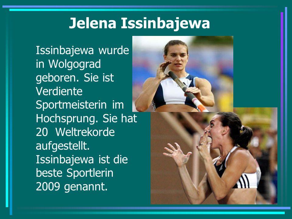 Jelena Issinbajewa