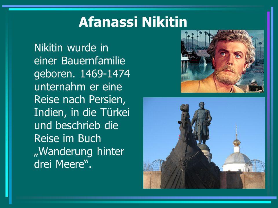 Afanassi Nikitin