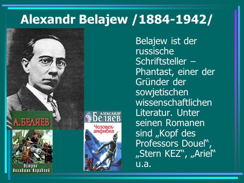 Alexandr Belajew /1884-1942/