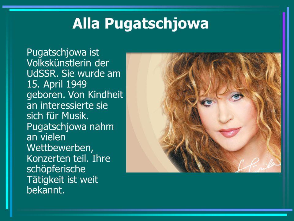 Alla Pugatschjowa