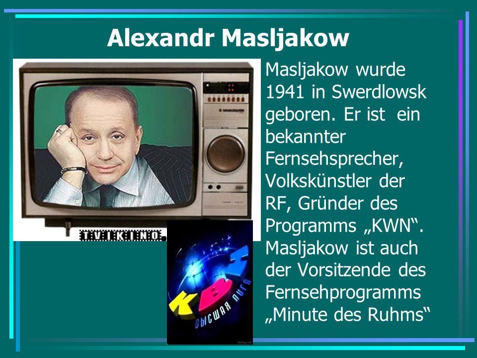 Alexandr Masljakow