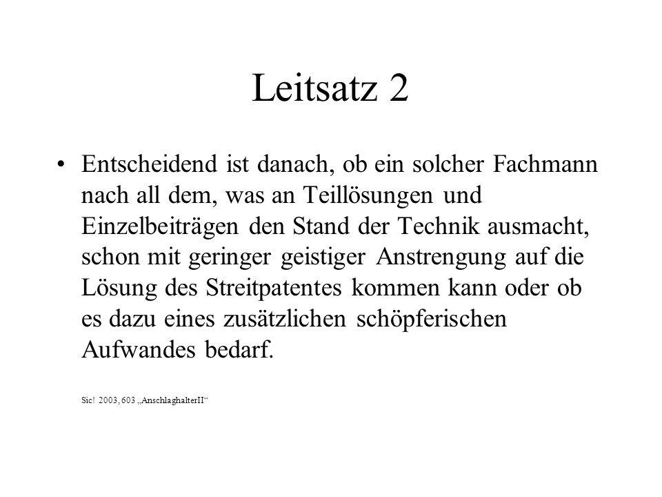 Leitsatz 2