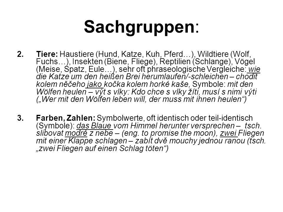 Sachgruppen: