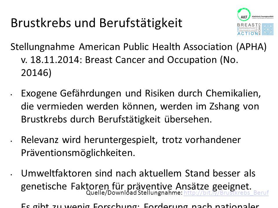 Brustkrebs und Berufstätigkeit