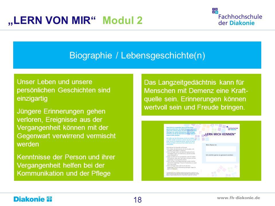 Biographie / Lebensgeschichte(n)