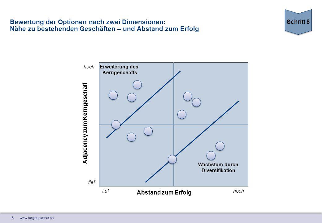 Erweiterung des Kerngeschäfts Wachstum durch Diversifikation