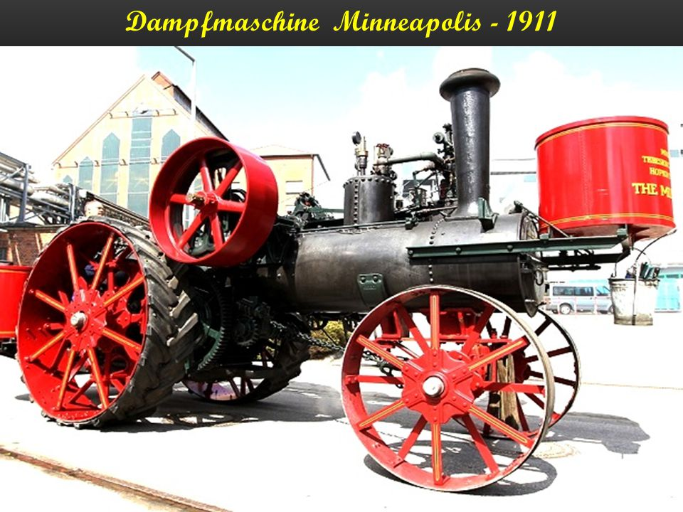 Dampfmaschine Minneapolis - 1911