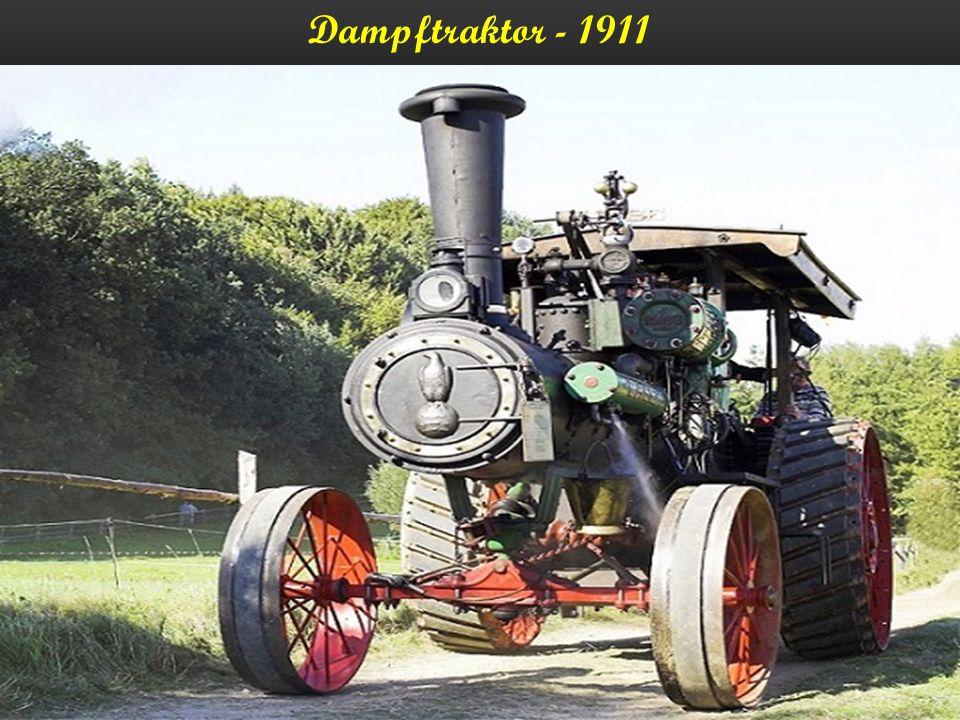 Dampftraktor - 1911