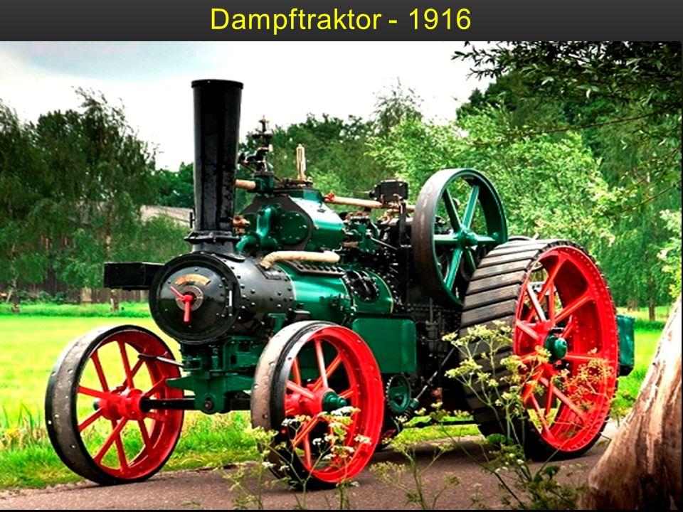 Dampftraktor - 1916