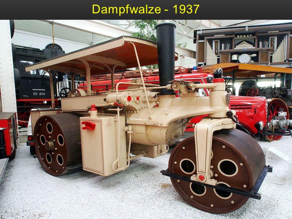 Dampfwalze - 1937
