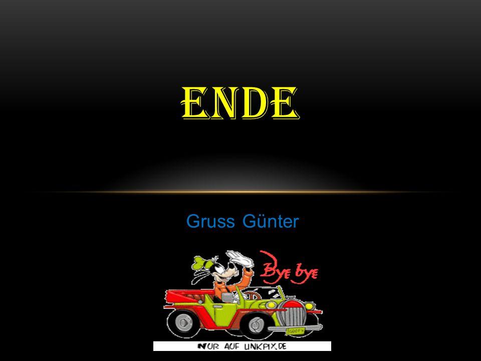 ende Gruss Günter