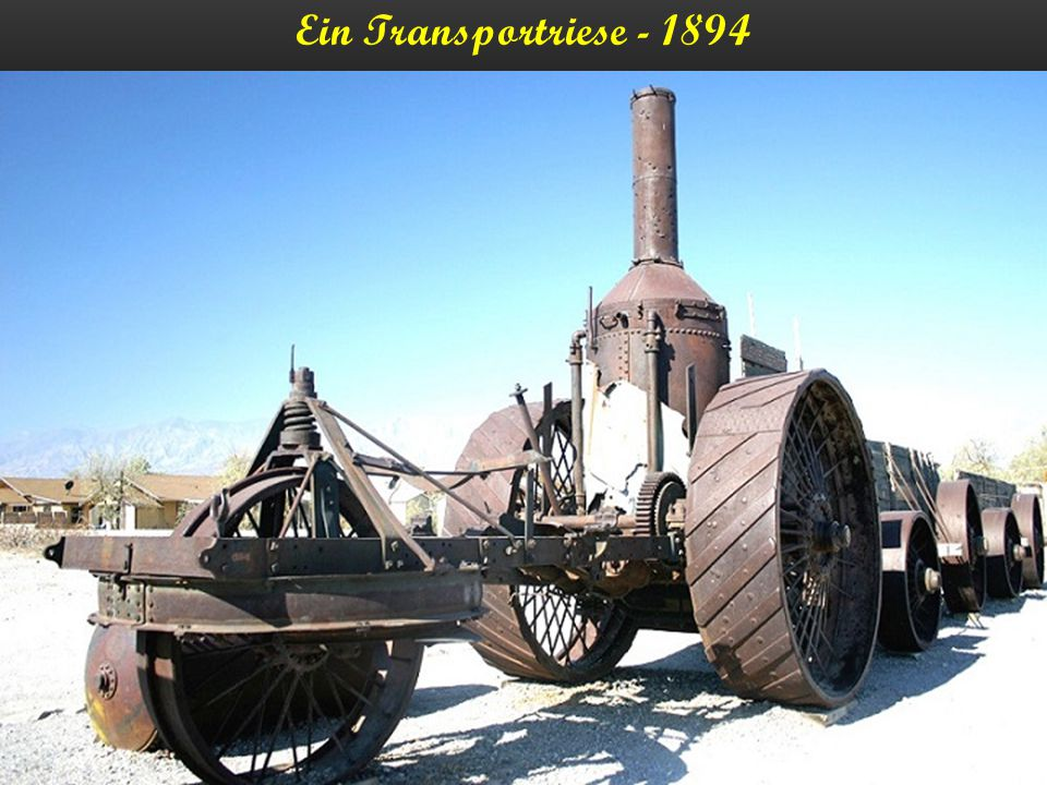 Ein Transportriese - 1894