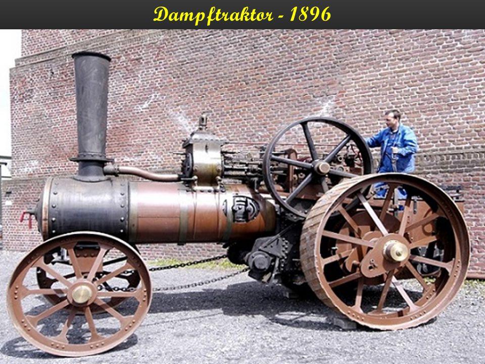 Dampftraktor - 1896
