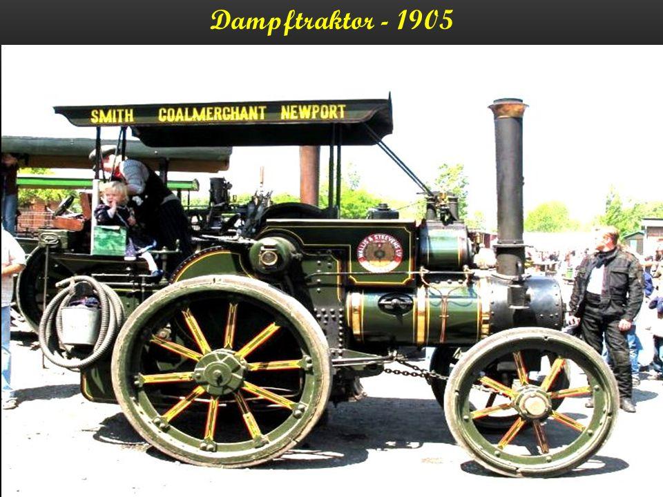 Dampftraktor - 1905