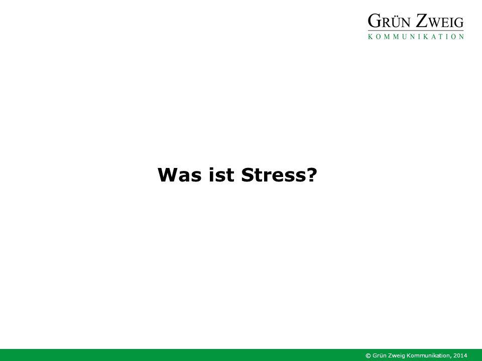Was ist Stress