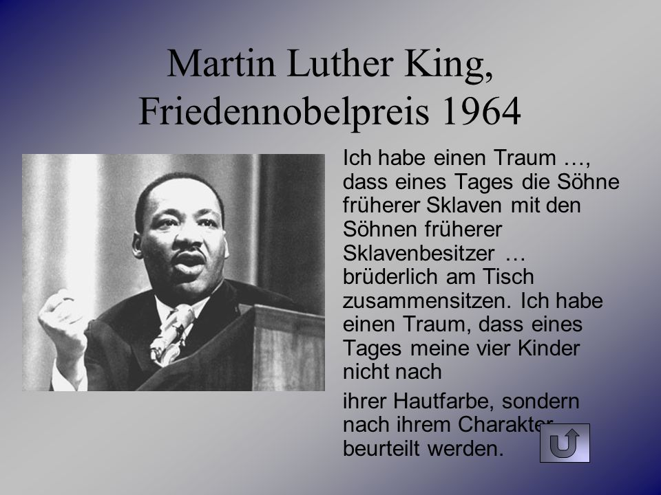 Martin Luther King, Friedennobelpreis 1964