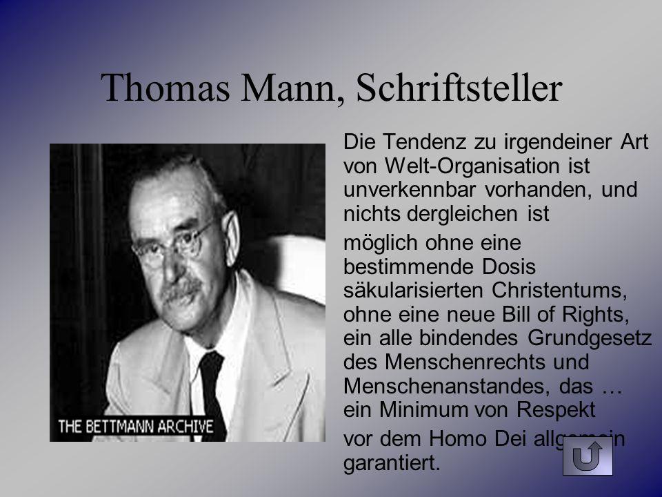 Thomas Mann, Schriftsteller