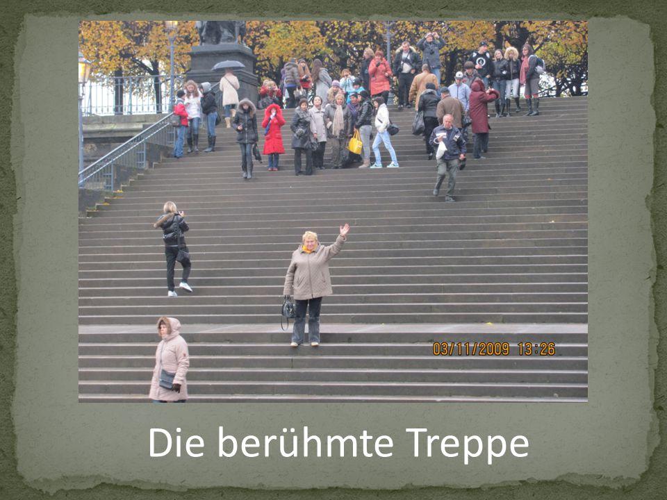 Die berühmte Treppe