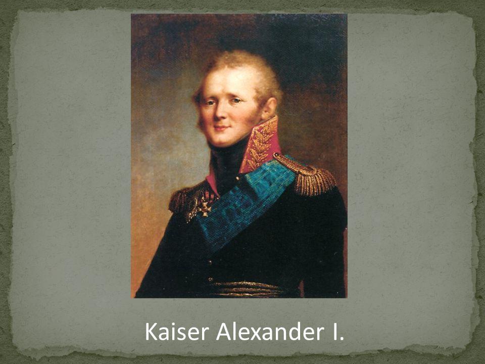Kaiser Alexander I.