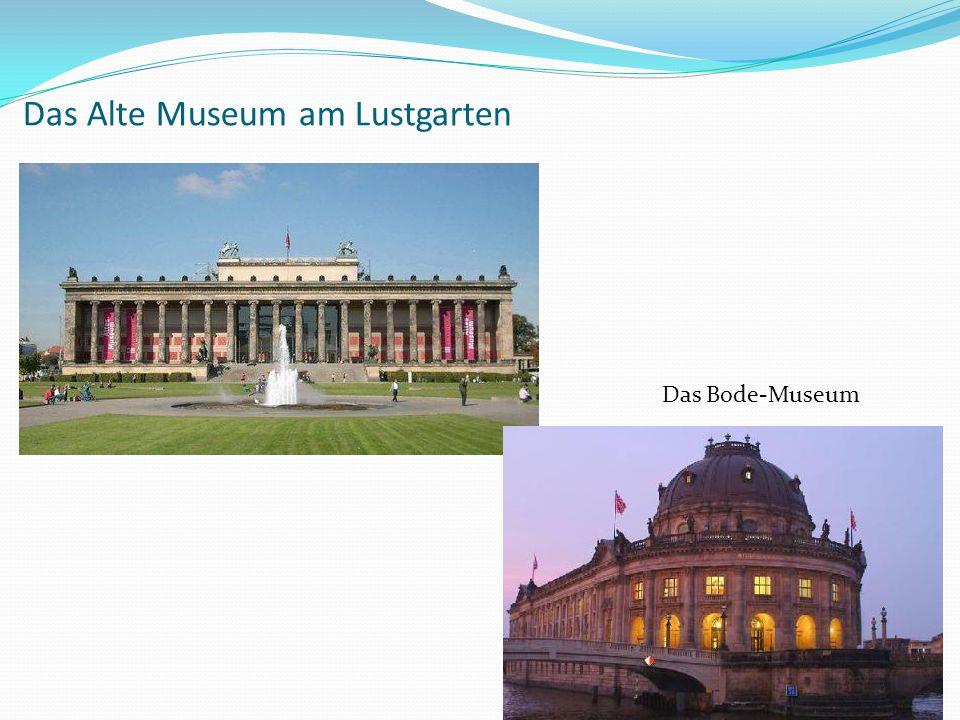 Das Alte Museum am Lustgarten
