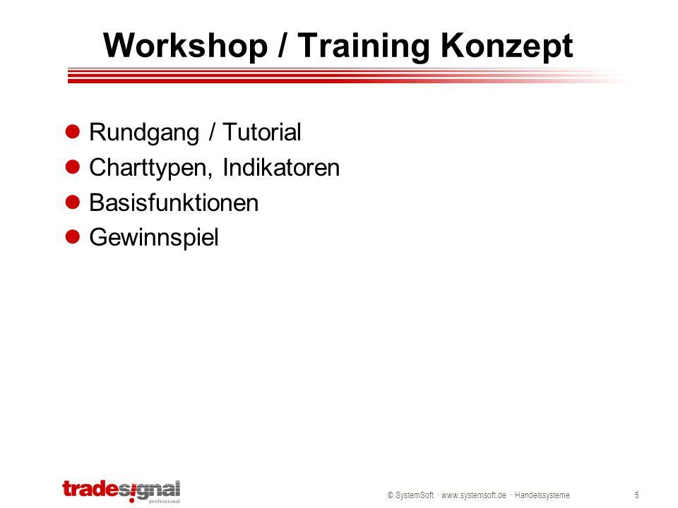 Workshop / Training Konzept