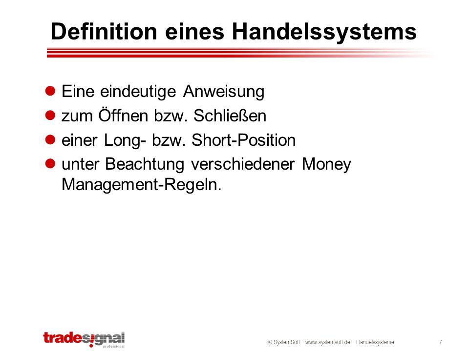 Definition eines Handelssystems