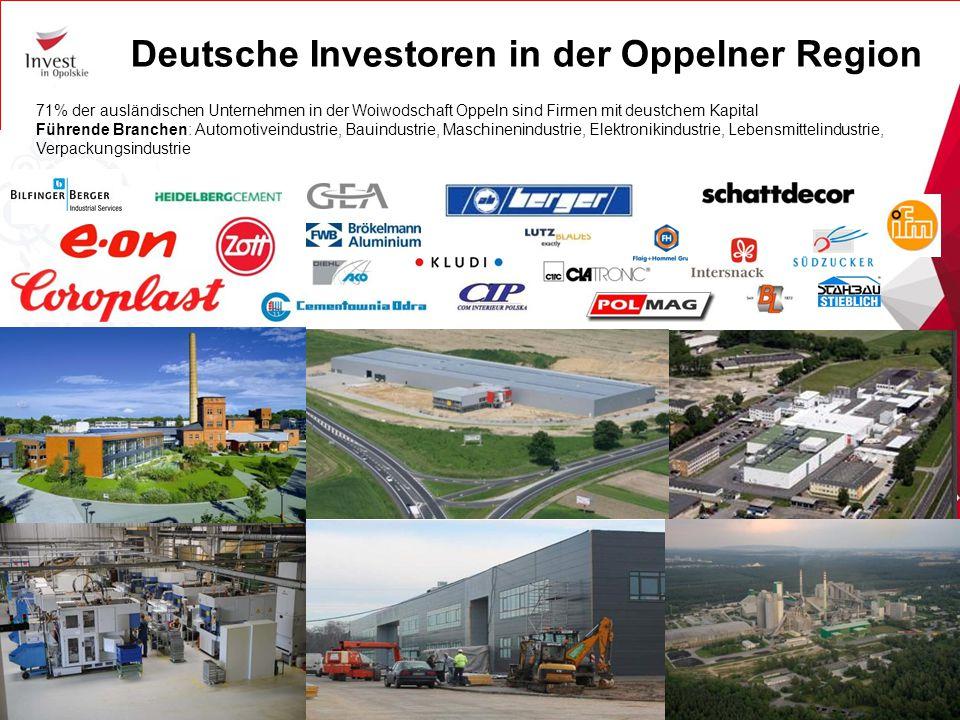 Deutsche Investoren in der Oppelner Region