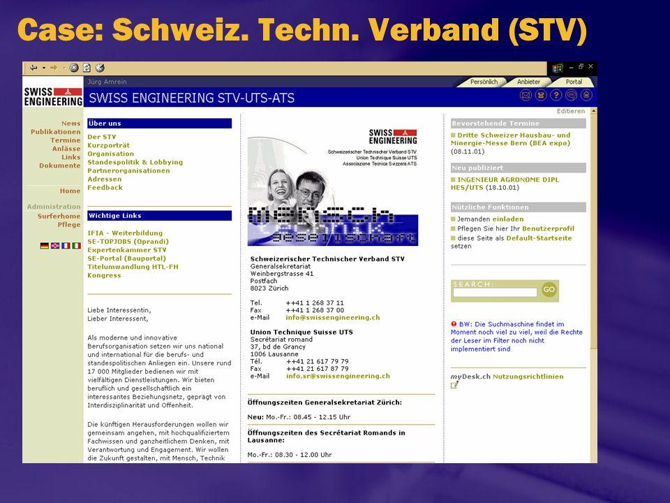 Case: Schweiz. Techn. Verband (STV)