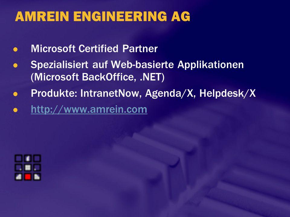 AMREIN ENGINEERING AG Microsoft Certified Partner