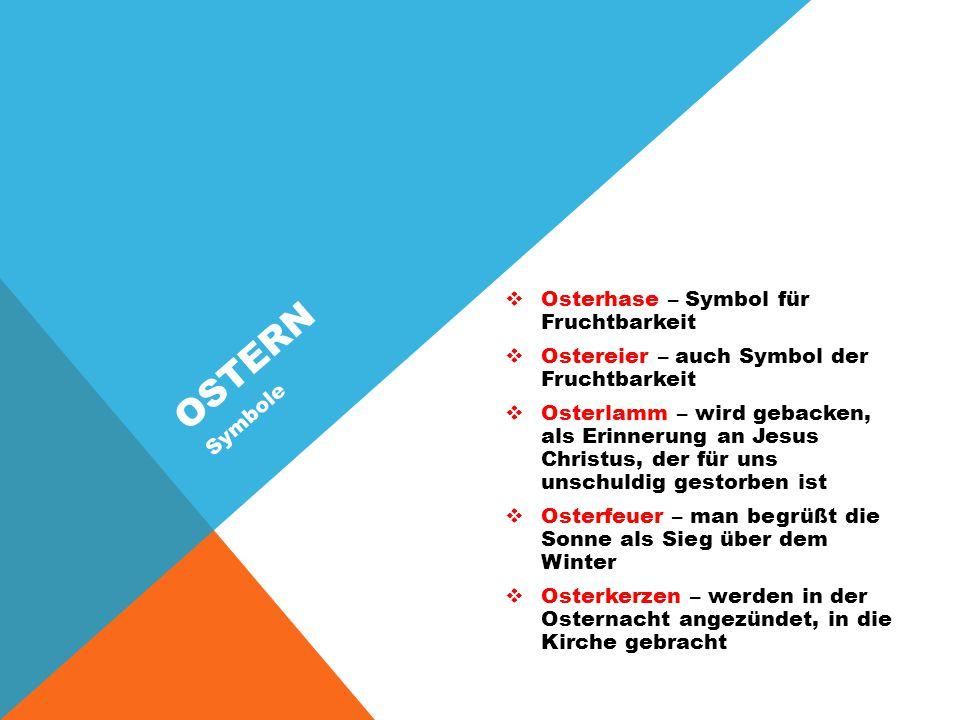 ostern Osterhase – Symbol für Fruchtbarkeit Symbole