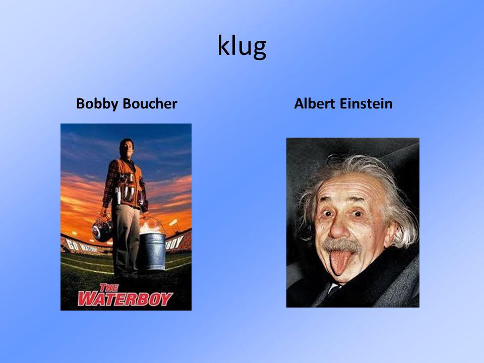 klug Bobby Boucher Albert Einstein