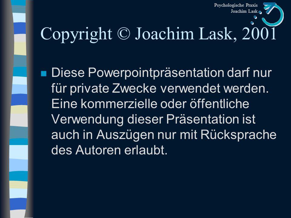 Copyright © Joachim Lask, 2001