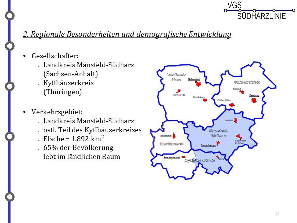 2. Regionale Besonderheiten und demografische Entwicklung