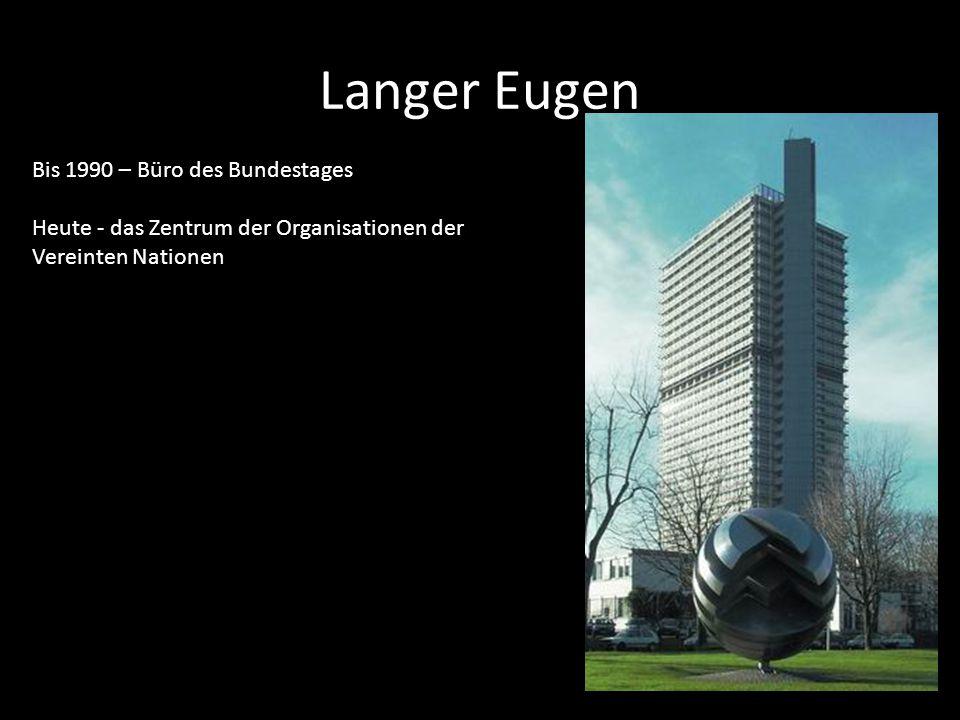 Langer Eugen Bis 1990 – Büro des Bundestages