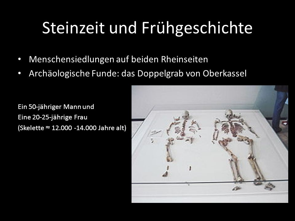 Steinzeit und Frühgeschichte